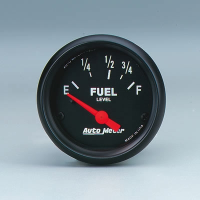 AutoMeter 2642 Z-Series Fuel Level Gauge - 52mm
