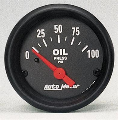 AutoMeter 2634 Z-Series Electronic Oil Pressure Gauge 100 PSI - 52mm