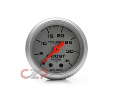 AutoMeter 4304 Ultra-Lite Mechanical Boost Gauge 35 PSI - 52mm