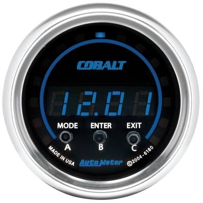 AutoMeter 6180 Cobalt Acceleration Gauge -2G +2G - 52mm