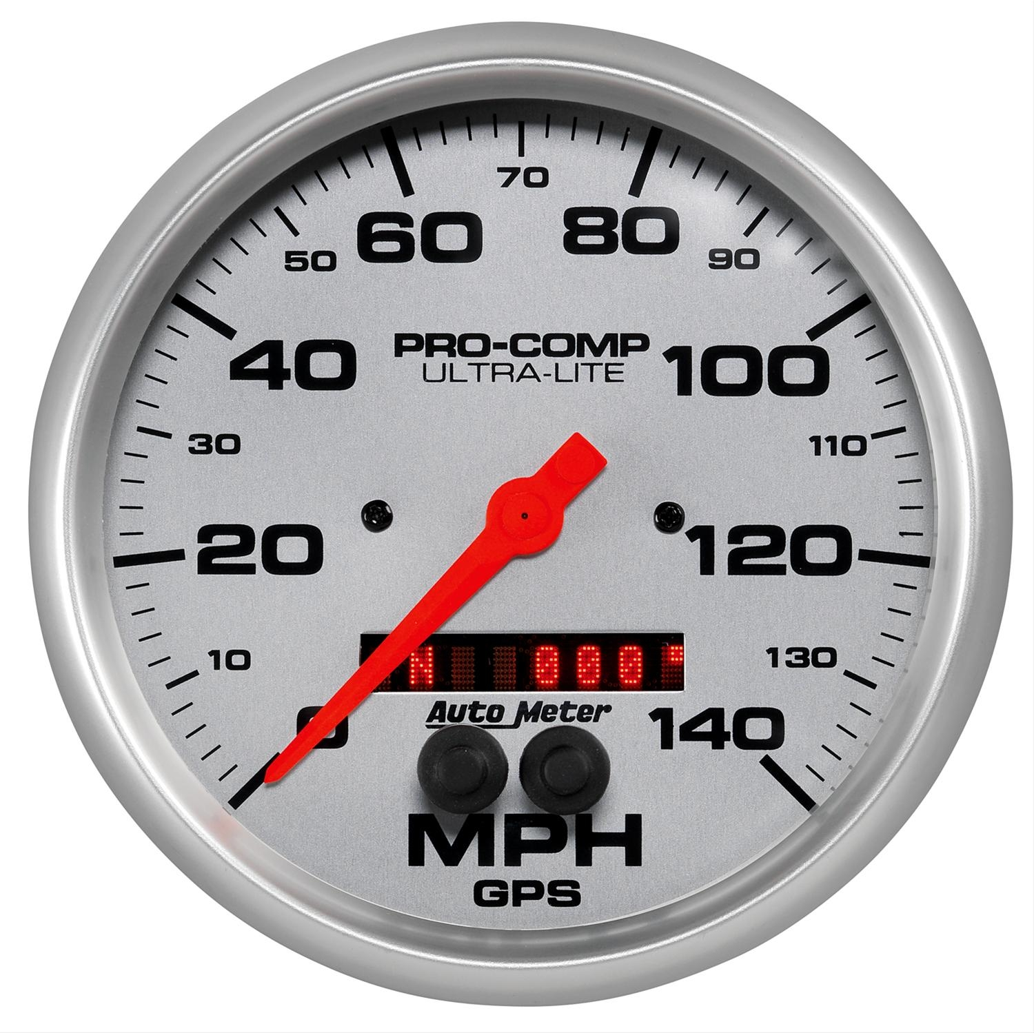 AutoMeter 4481 Ultra-Lite GPS Enabled Speedometer 140 MPH - 5""
