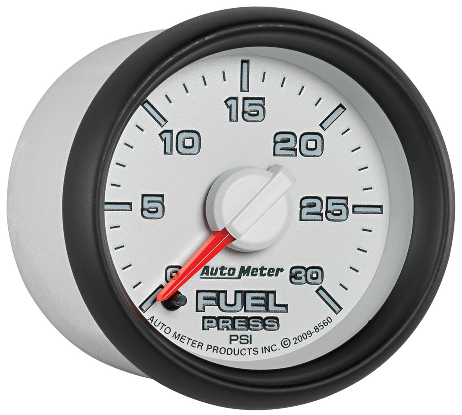 Electronic Gas Gauge : Autometer factory match electronic fuel
