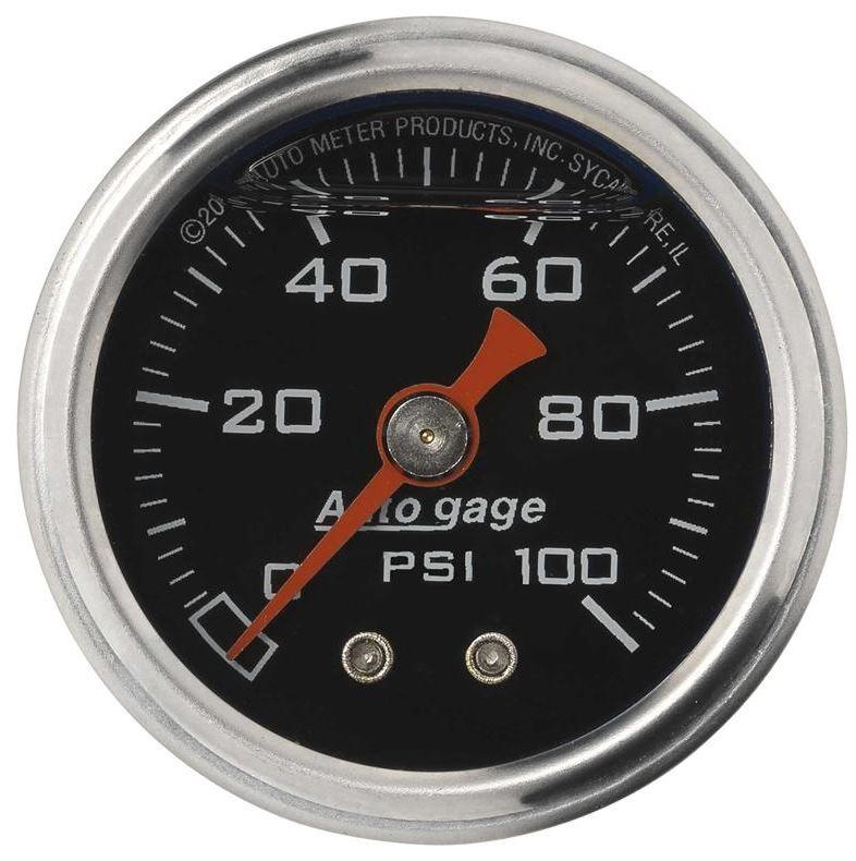 2-1//16 in. Autometer 5704 Phantom Boost Pressure Gauge Mechanical