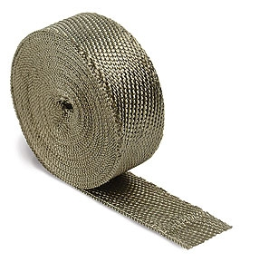 "DEI 010127 Titanium Exhaust / Header Wrap 2""x 50ft"