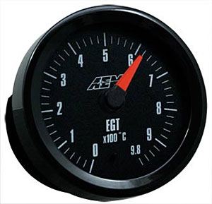 AEM 30-5131M Exhaust Gas Temperature Gauge 0-980 Deg C - 52mm Metric