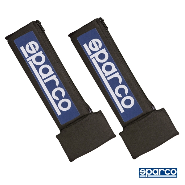 Sparco 01092L34S3NR Black Competition Harness Pad Nomex