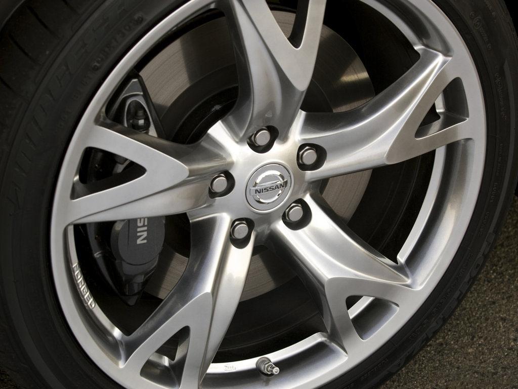 Nissan Infiniti Nissan Oem 370z Front Wheel Rim Hyper