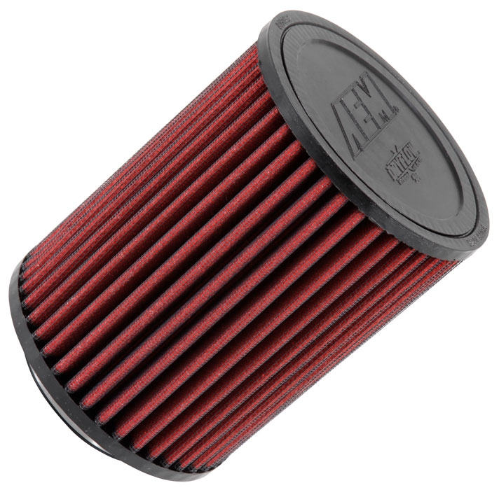 "AEM 21-2036DK DryFlow Air Filter 3"" Flange, 5"" OD, 6.5"" Height - Stillen Gen 3 Dry Filter Replacement"