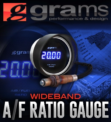 Grams Performance G2-99-0055  Wideband Air / Fuel Ratio Gauge - 52mm