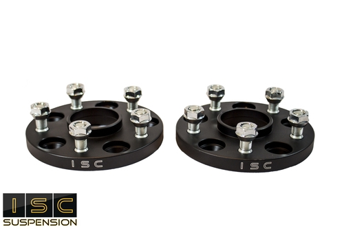ISC Suspension WSNS15B Hubcentric Wheel Spacers 5x114.3, 15mm