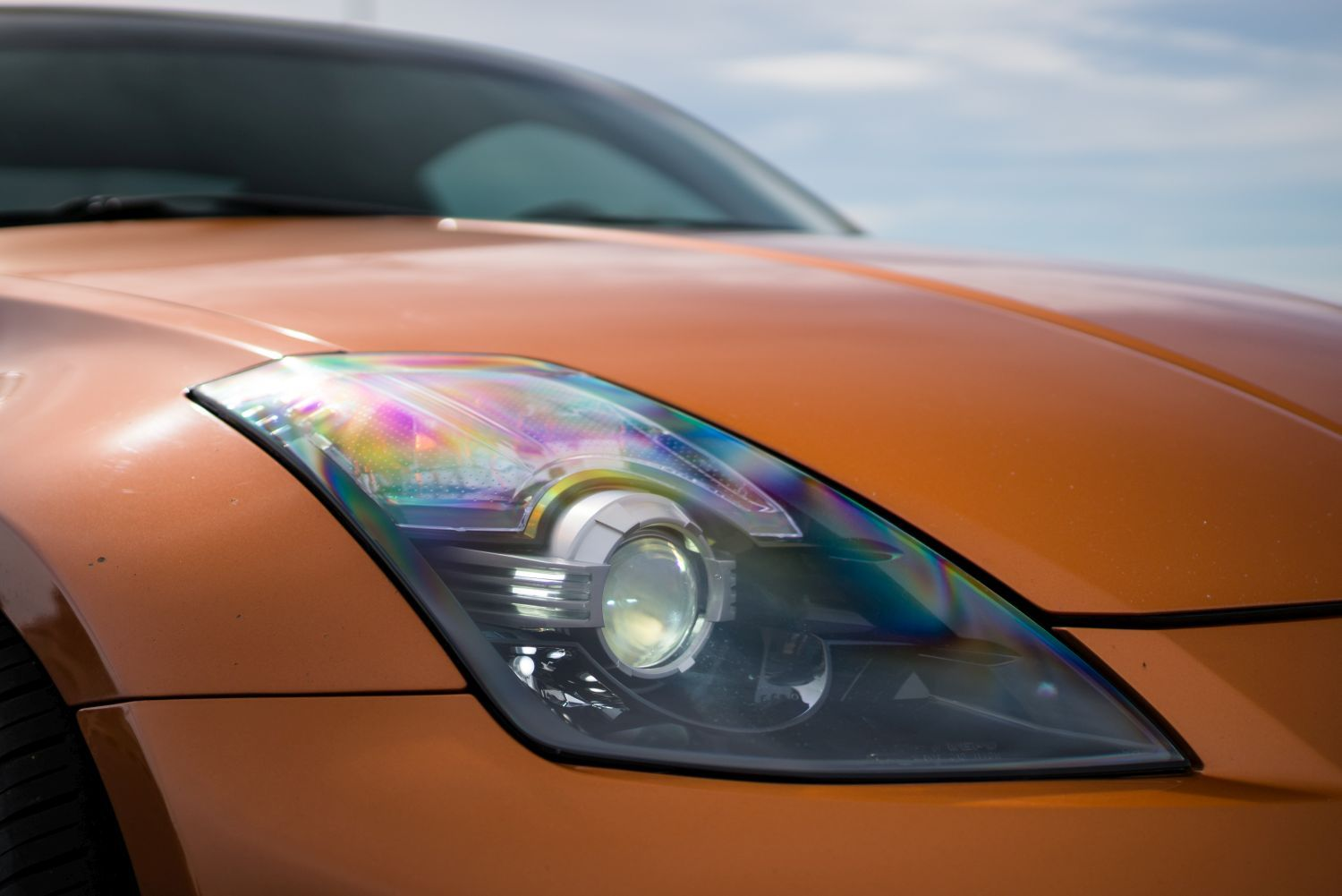 Depo Blacked Out Bi Xenon Projector Headlight Set Nissan 350z Z33 In Stock Limited Quantities 315 1162pxush2 Czp 26033 Cd010 Depowr Ada Ns 350z Htox Concept Z Performance