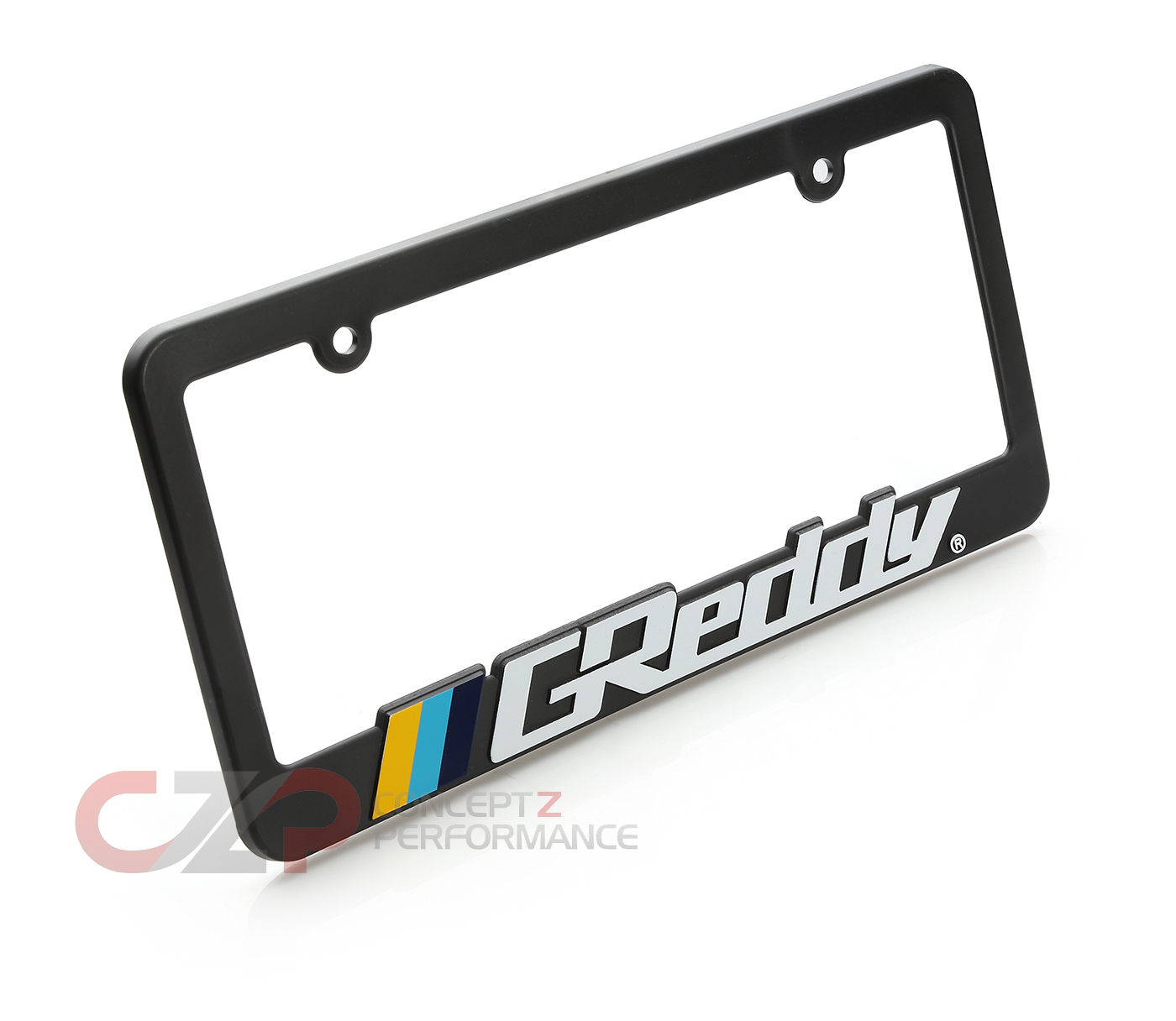 Greddy LIC02010 Official License Plate Frame