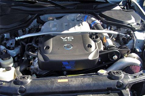 vortech v-3 sci supercharger complete system, satin vq35de revup