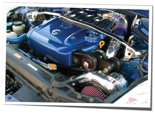 Vortech 4NZ218-128L V-3 SCi Supercharger Tuner Kit, Polished, VQ35DE RevUp  Engine - Nissan 350Z 05-06 Z33 - Concept Z Performance