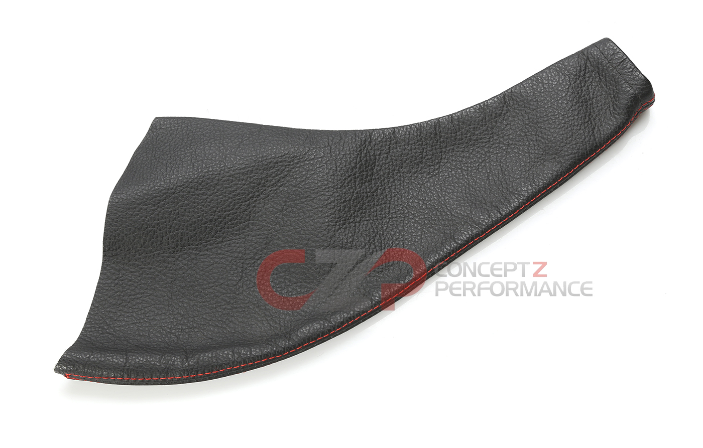 CZP  Real Leather E-Brake Boot w/ Red Stitching - Nissan 240SX S13