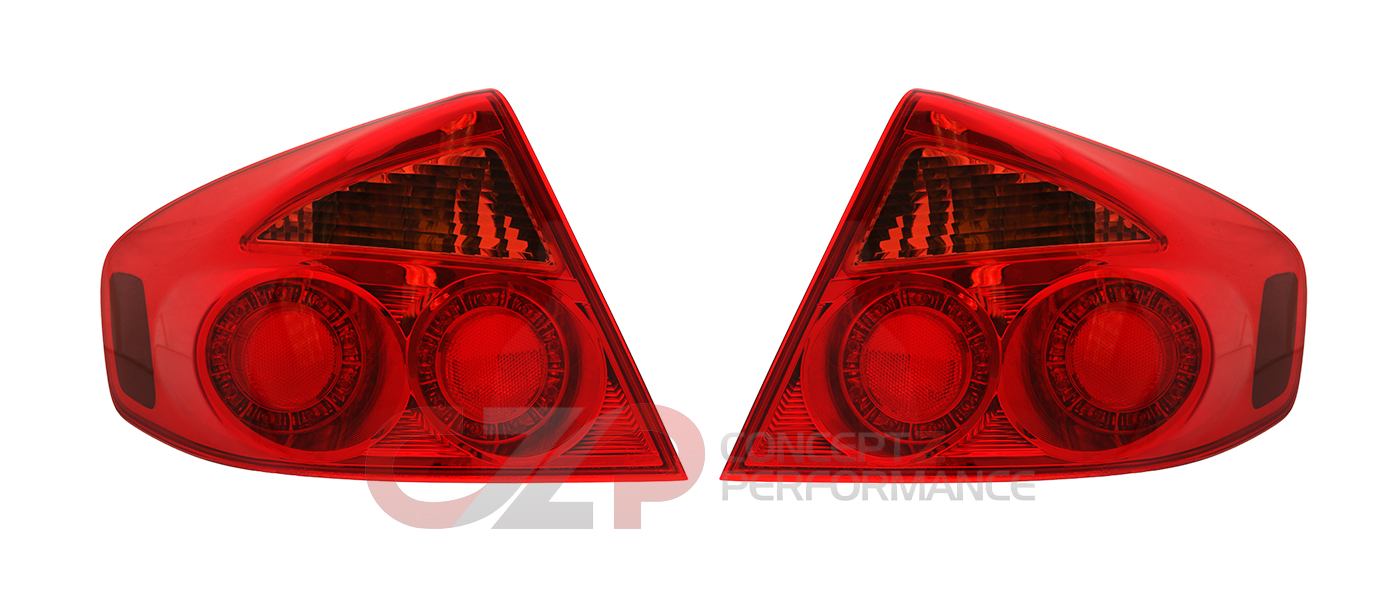 Nismo JDM Rear Tail Light Set Round Type - Infiniti G35 03-06 Sedan V35