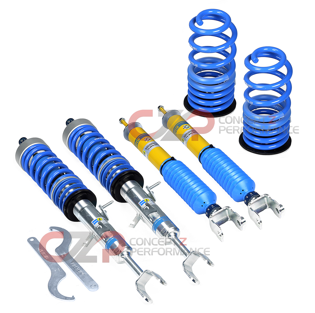 Bilstein B16 PSS10 Performance Suspension Coilover Kit - Nissan 370Z / Infiniti G35 G37 Q40 Q60 RWD