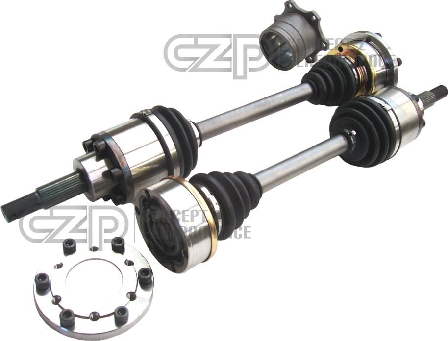 DriveShaft Shop Upgraded Rear Axle Kit w/ Differential Stubs, up to 1000HP - Nissan GT-R R35