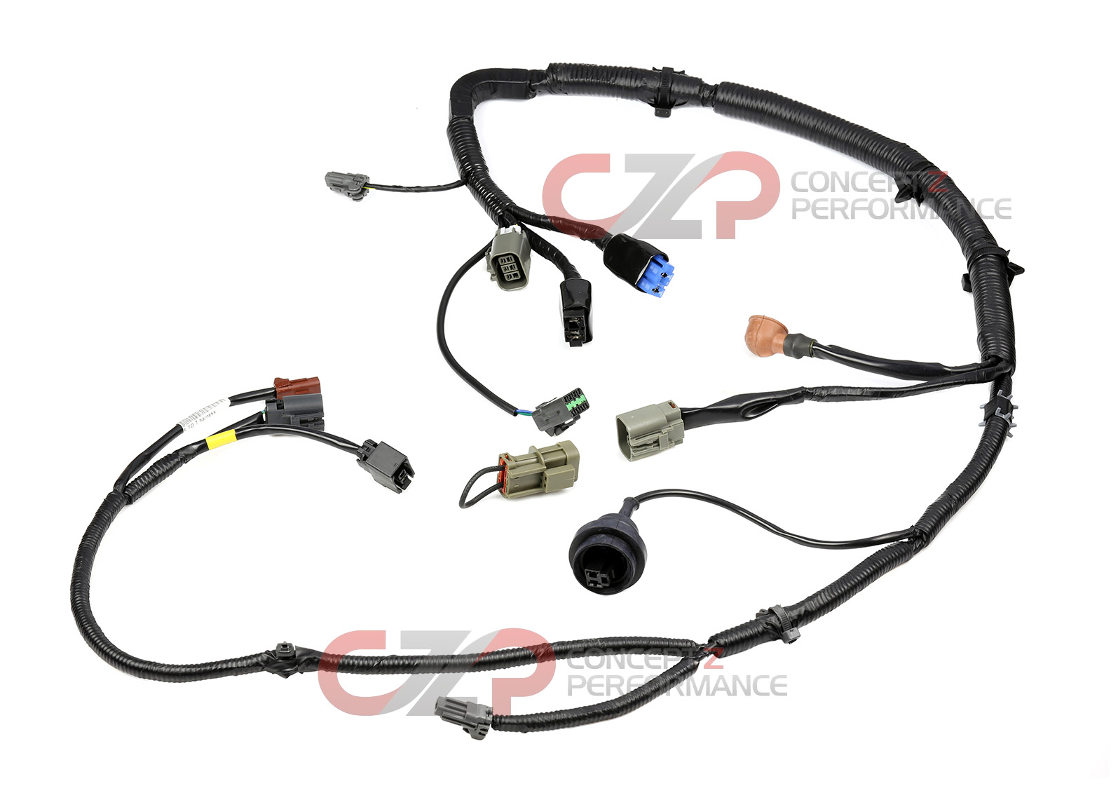 87 Mustang Main Harness Wiring Diagram Example Electrical 2004 300zx Automatic Engine Wire 35 Radio 91