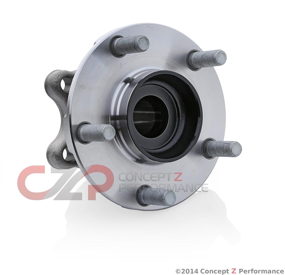 Front wheel hub. Front wheel bearing 56