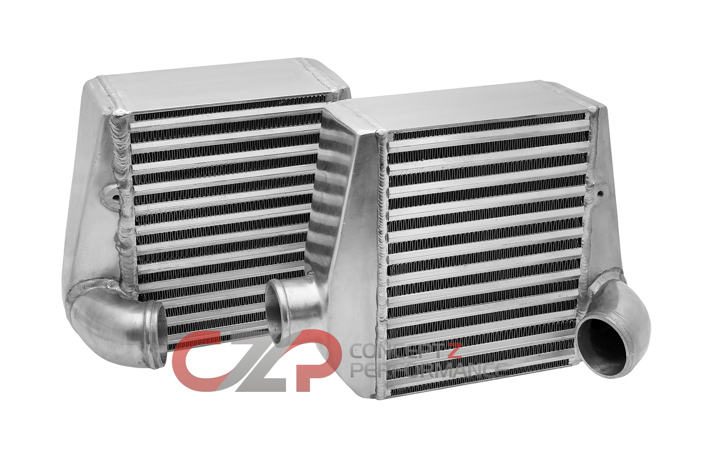 "NEW CZP ""TITAN"" Side Mount Intercoolers, ARC-Style Core, 2.5""  - Nissan 300ZX Z32"