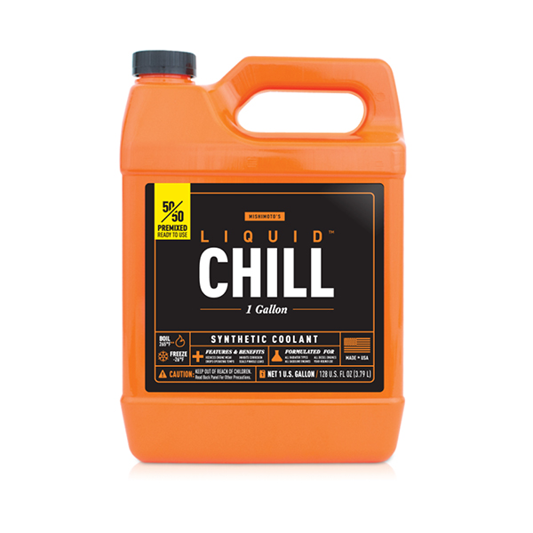 Mishimoto MMRA-LC-5050F Liquid Chill Synthetic Engine Coolant, 50/50 Premixed (1 Gallon)