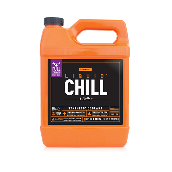 Mishimoto MMRA-LC-FULLF Liquid Chill Synthetic Engine Coolant, Full Strength Concentrate (1 Gallon)