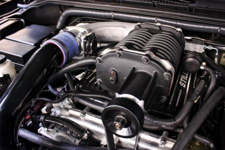 stillen 407401 supercharger, black 13 14 frontier xterra 4 0l (3