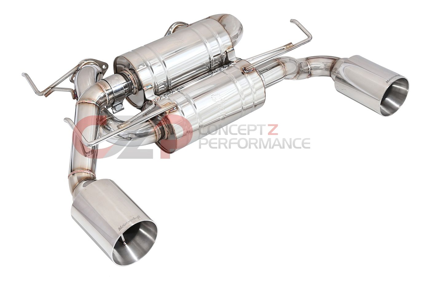 GTHAUS Musa GTS Round Split SS Exhaust System,  IPL Edition - Infiniti G37 08-13 & Q60 14-15 Coupe CV36