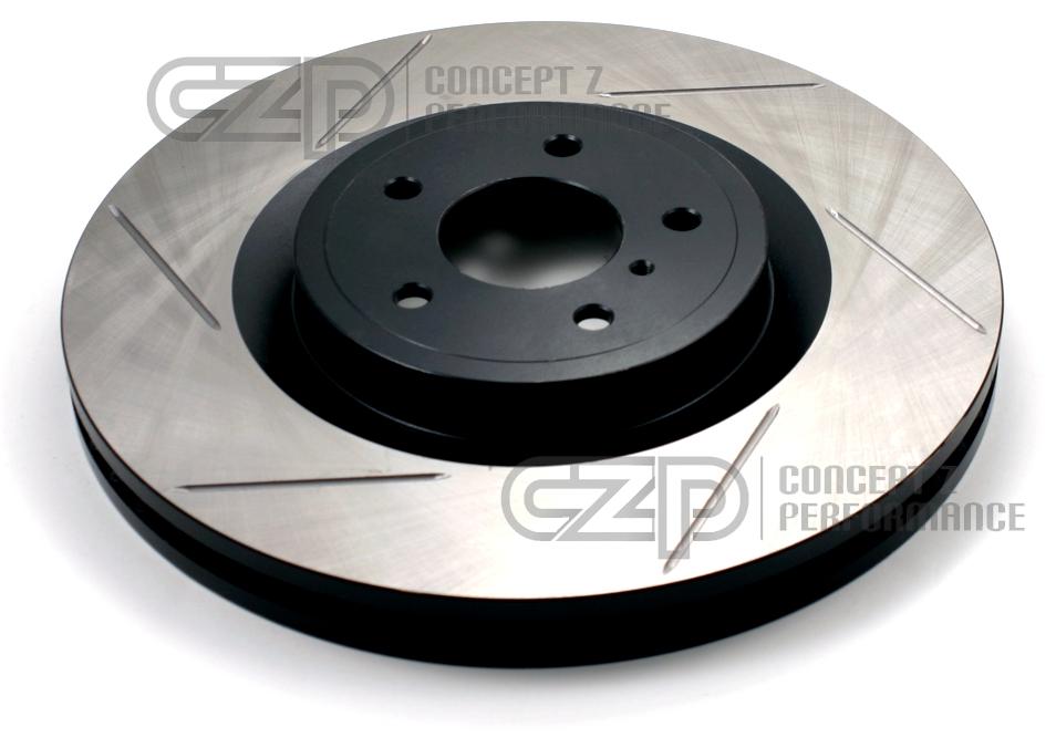 Front Vented Disc Brake Rotors /& Pad Set Kit Brembo Fits Infiniti EX35 Q70 Q40