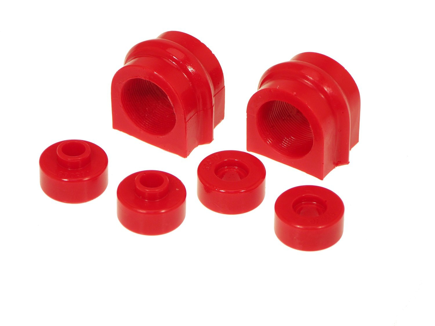Prothane 14-1119 Front Sway Bar Bushing Kit, 27mm Red - Nissan 240SX 95-98 S14