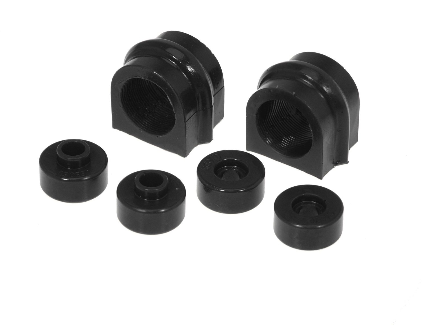Prothane 14-1119-BL Front Sway Bar Bushing Kit, 27mm Black - Nissan 240SX 95-98 S14