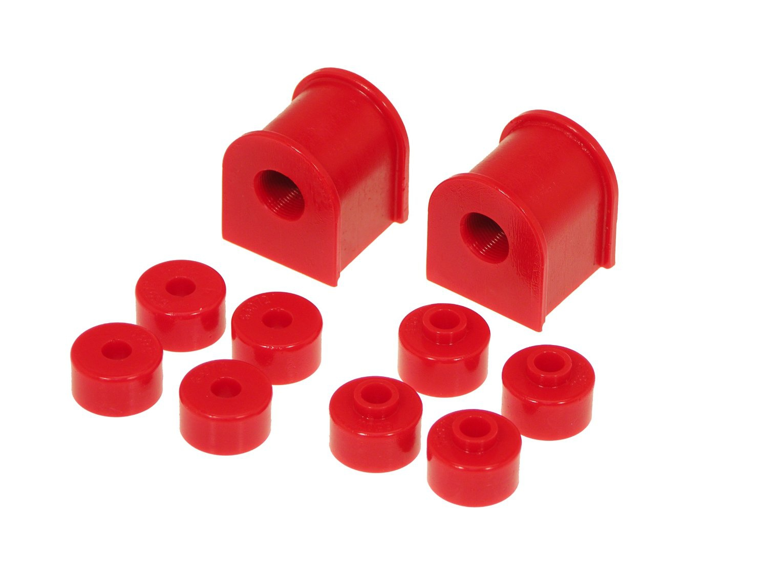 Prothane 14-1120 Rear Sway Bar Bushing Kit, 15mm Red - Nissan 240SX 89-94 S13