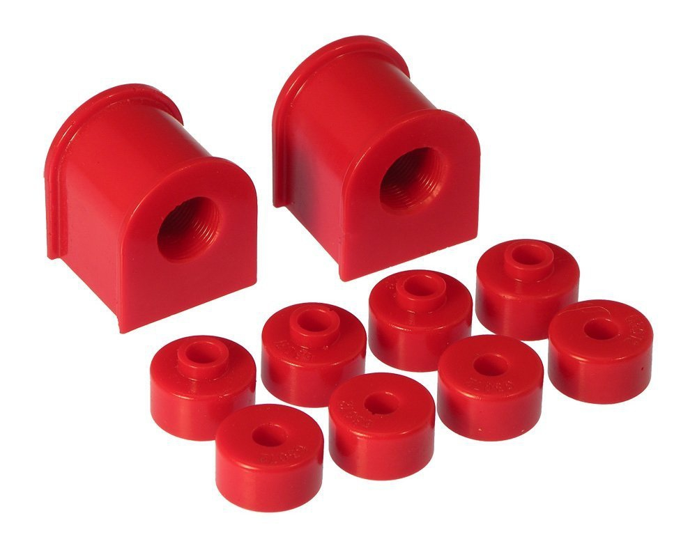 Prothane 14-1121 Rear Sway Bar Bushing Kit, 17mm Red - Nissan 240SX 89-94 S13