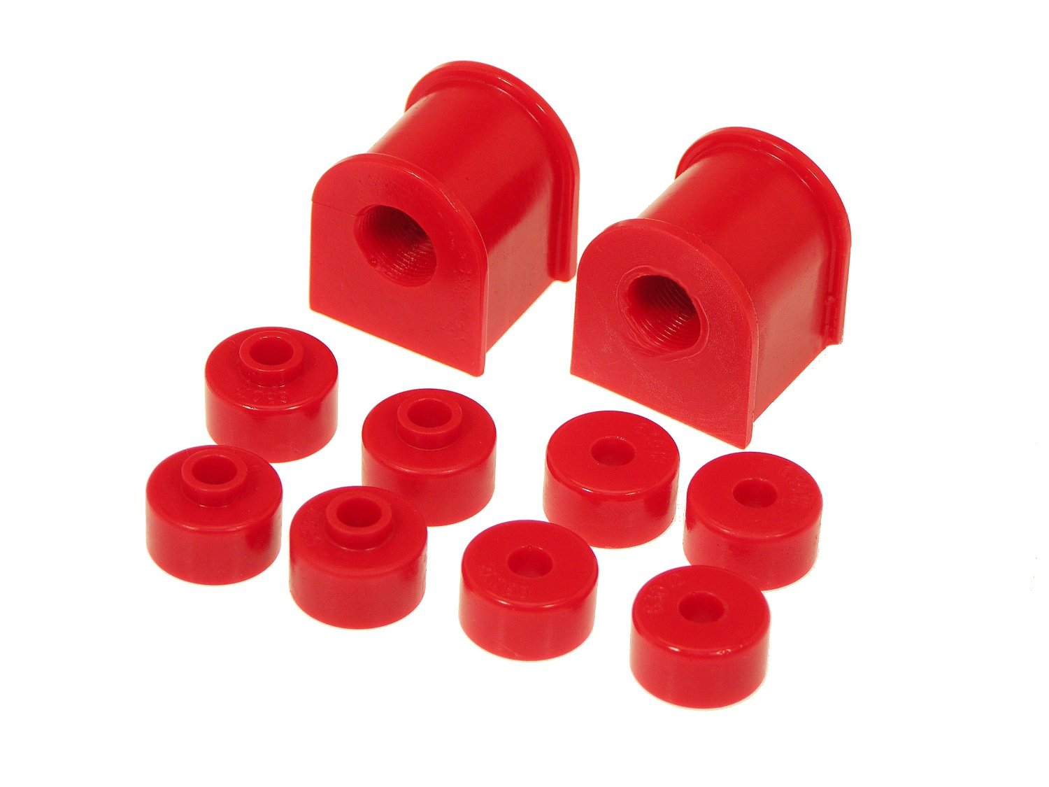 Prothane 14-1121 Rear Sway Bar Bushing Kit, 16mm Red - Nissan 240SX 95-98 S14