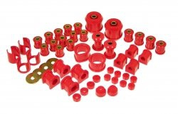 Prothane 14-2005 Total Kit, Red - Nissan 240SX 89-94 S13