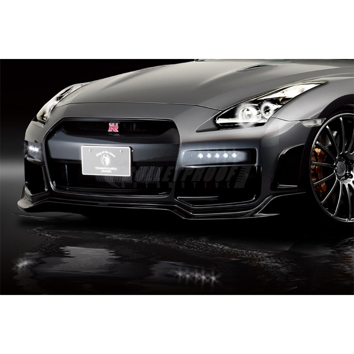 Tommy Kaira 1N001A50 Front Under Diffuser, FRP - Nissan GT-R R35
