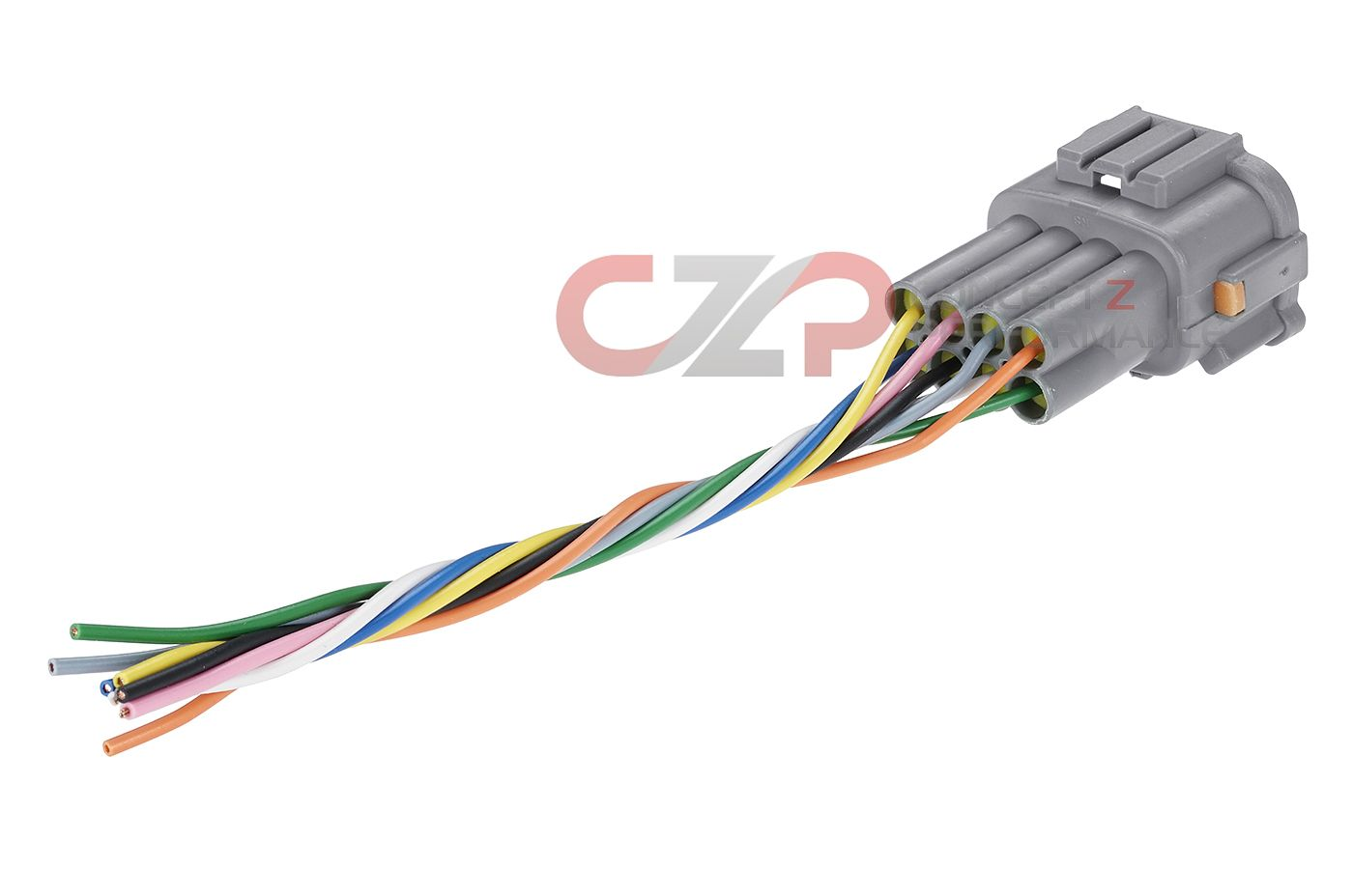 Czp Xenon Hid Headlight Connector W Pigtails 8 Pin Male Nissan 2006 350z Fuse Box On Sale