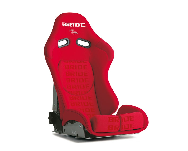 Bride G33IMR Stradia II Reclining Seat, Red Logo CFRP Carbon Fiber - Low Cushion