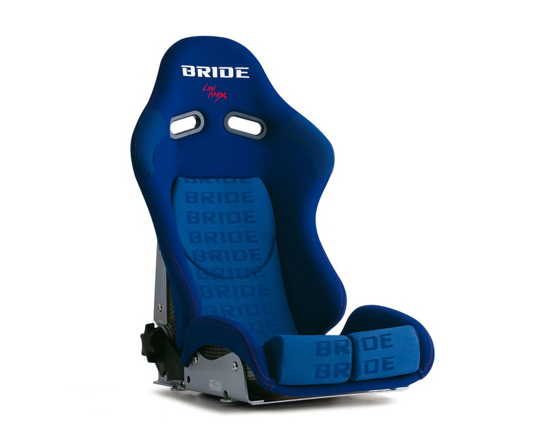 Bride G33JMR Stradia II Reclining Seat, Blue Logo CFRP Carbon Fiber - Low Cushion
