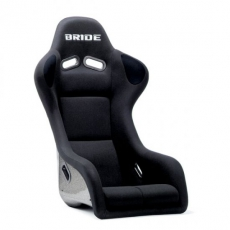 Bride F31AZR Zeta III Bucket Seat, Black w/ Super Aramid Black Carbon Shell