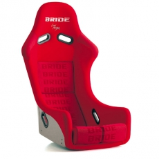 Bride F61IMF Zieg III Bucket Seat, Red Logo FRP - Low Max System