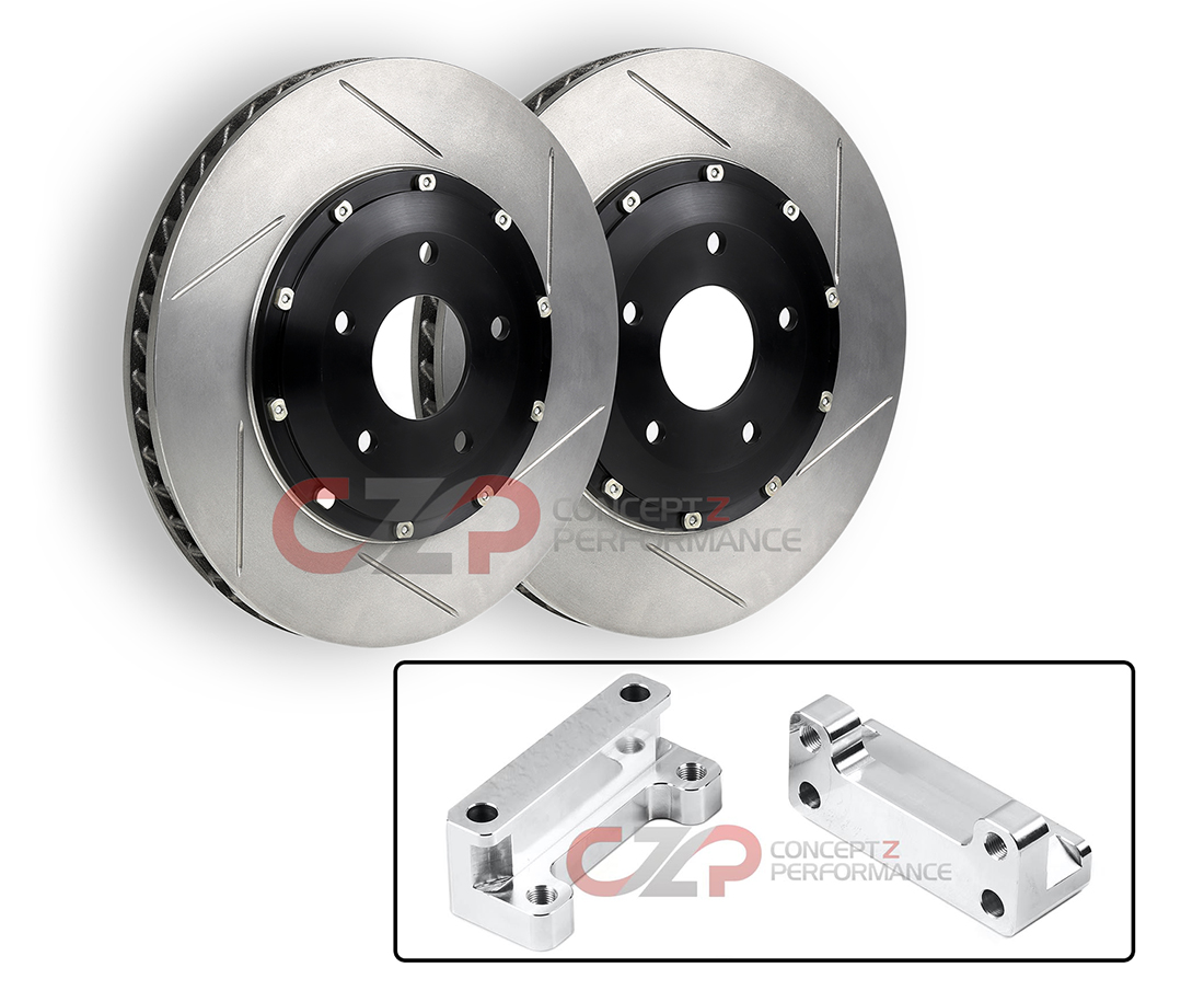 "CZP 12.75"" Upgrade Adapter Kit w/ Stoptech 2pc Aero Rotors - Nissan 300ZX 90-96 Z32"