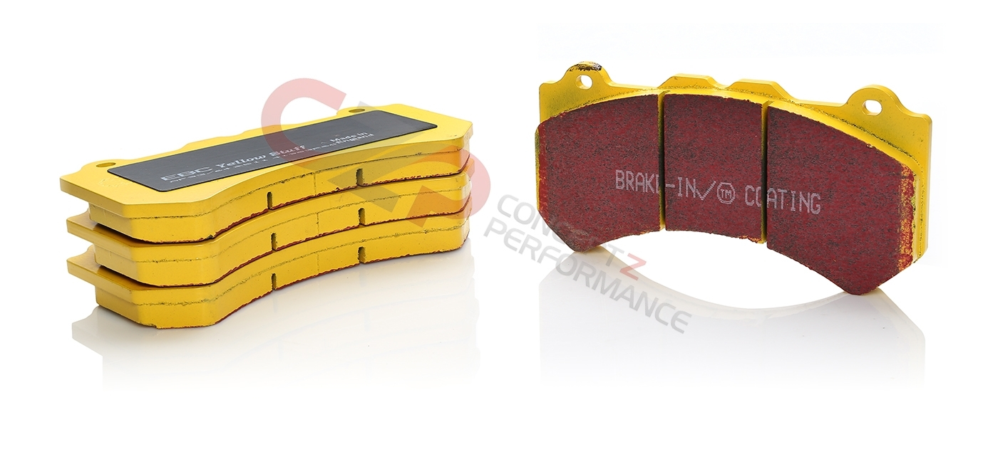 EBC Yellowstuff Brake Pads, Rear - Nissan Skyline 89-94 R32 Non Spec-V / 300ZX 90-96 Z32