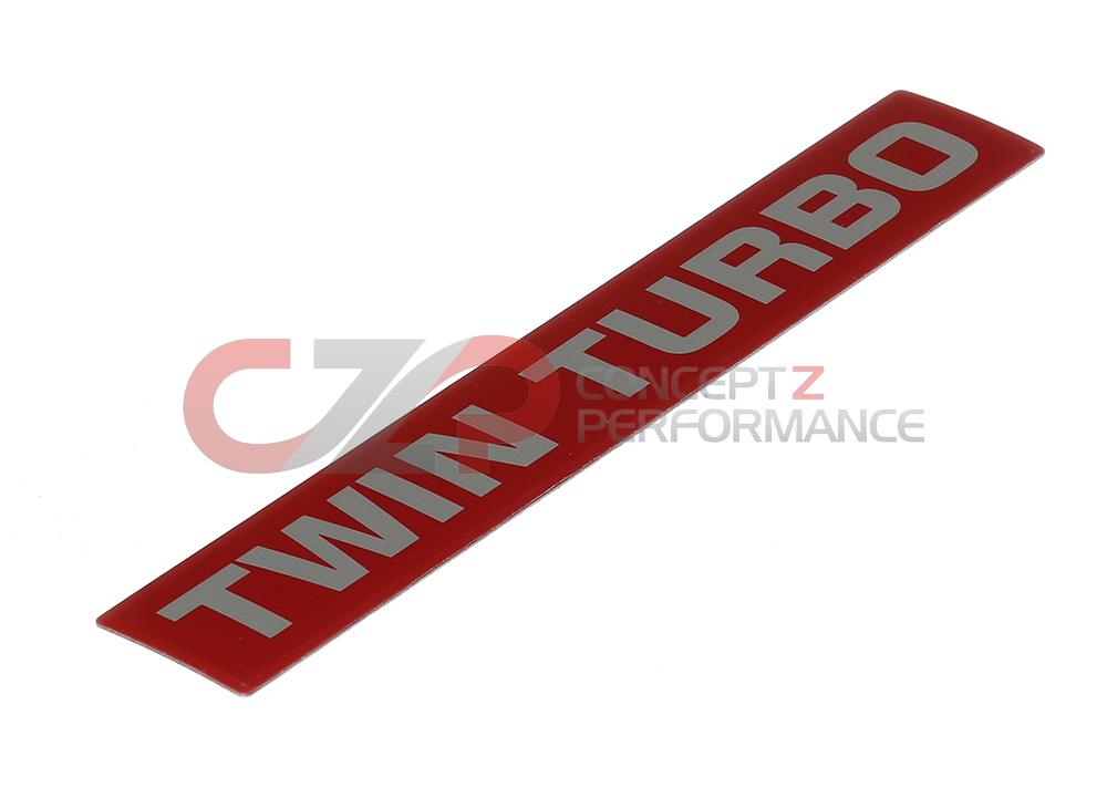 nissan    infiniti nissan oem 300zx twin turbo plenum emblem 14041