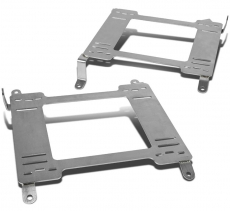 NRG Stainless Steel Seat Low Rail Mount Brackets, Manual Transmission MT L+R - Nissan 350Z 03-08 Z33