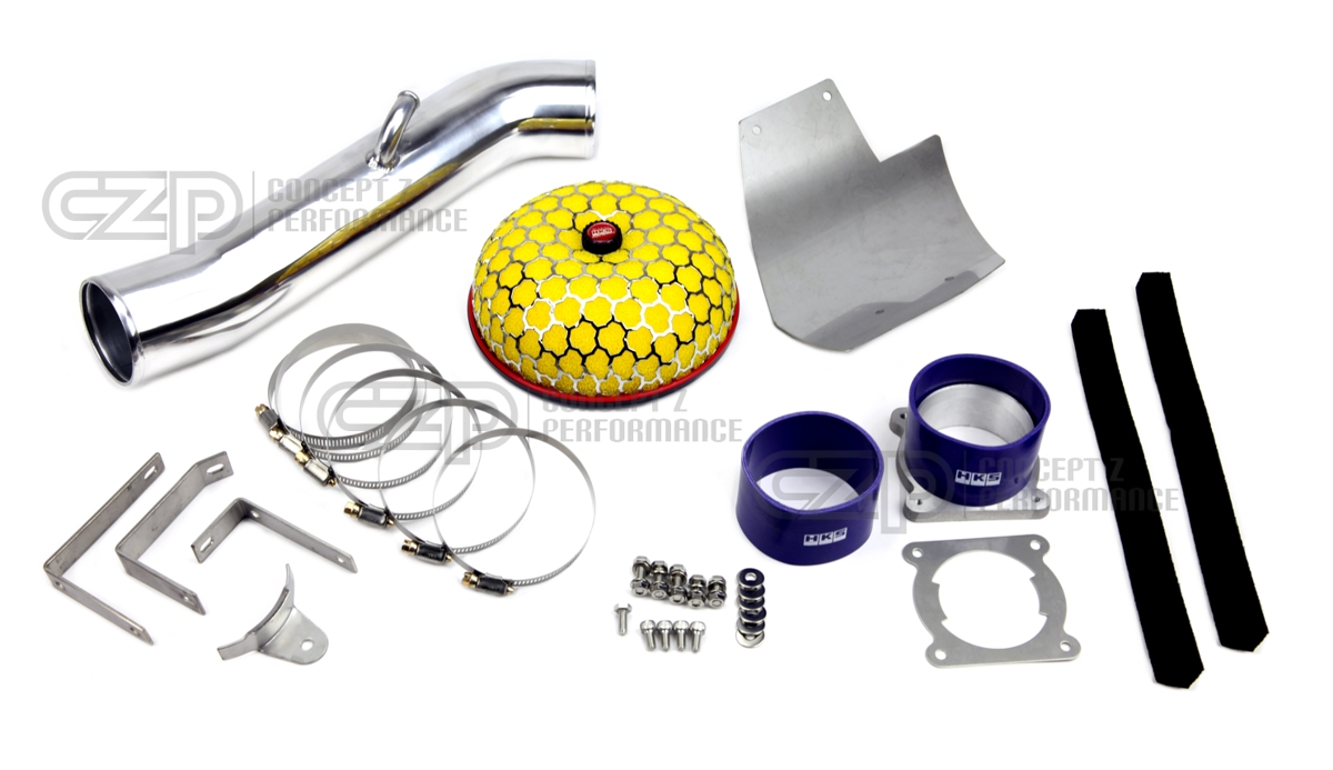 HKS 70020-BN011 Racing Suction Reloaded Intake Kit w/ Heat Shield - Nissan 350Z 03-06 Z33