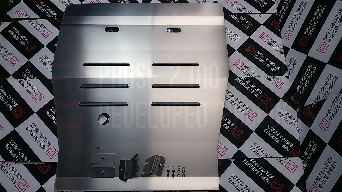 P2M Aluminum Front Under Tray Air Panel - Nissan Silvia 180SX 240SX S13