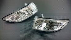 P2M P2-NPS13FCL01-JY Front Clear Side Markers - Nissan 240SX S13