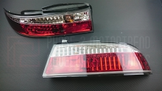 P2M P2-NS14RTL01C-JY Rear Tail Light Set, Crystal - Nissan 240SX 95-96' S14 Zenki